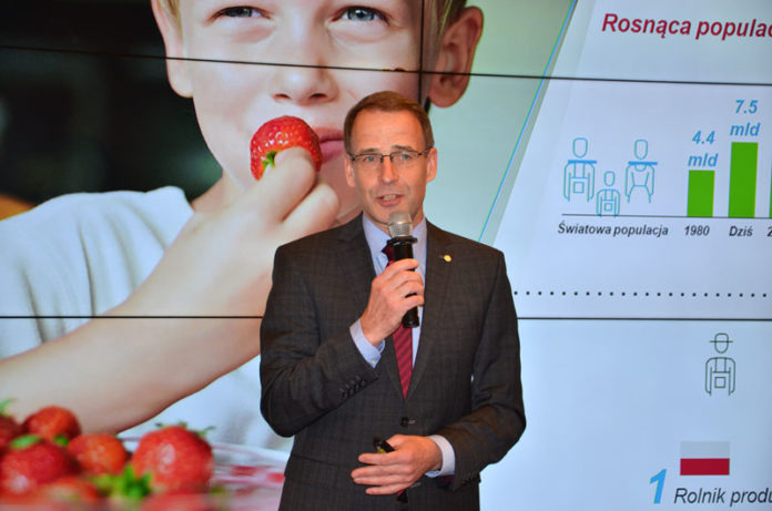 Joerg Rehbein, Head of Central & Eastern Europe Crop Science, Bayer