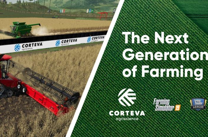 Farming Simulator, gry, gry rolnicze, Corteva