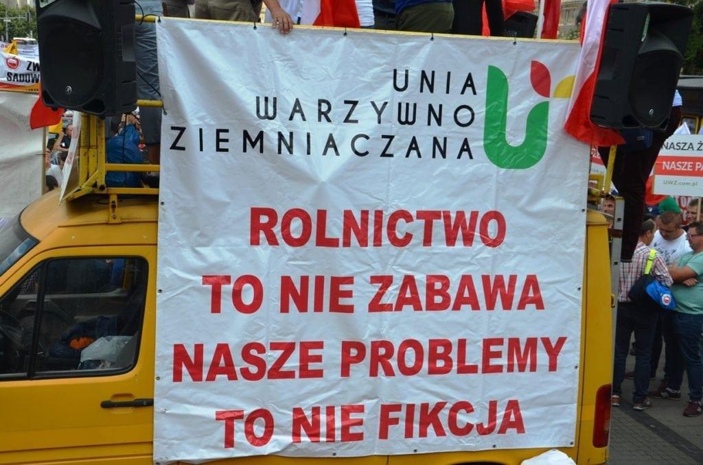 AgroUnia zapowiada kolejne protesty
