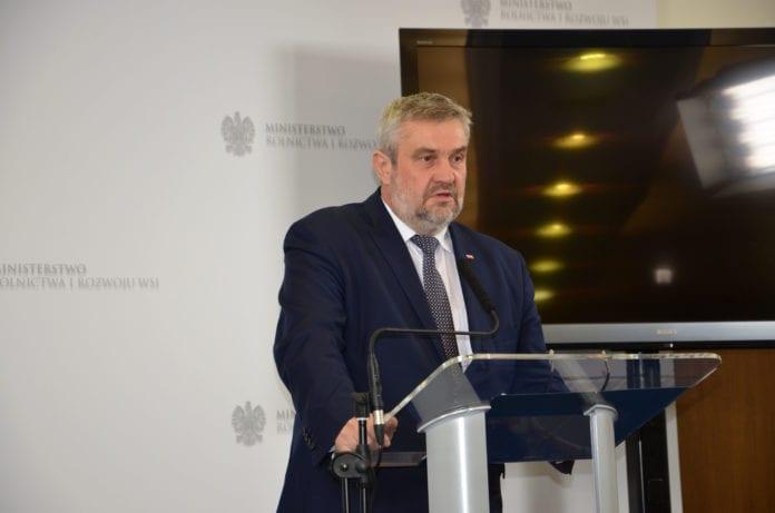 eksport żywności do Zjednoczonych Emiratów Arabskich, eksport żywności, rolnictwo, Jan Krzysztof Ardanowski,