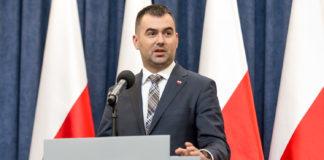 Minister Błażej Spychalski