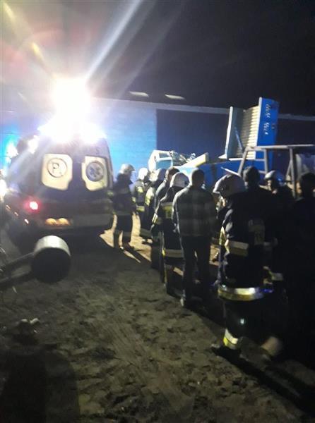 OSP Izbica Kujawska, Kombajn do buraków wciągnął rolnika, wypadki z udziałem ciągnika, wypadek z udziałem rolnika, policja,