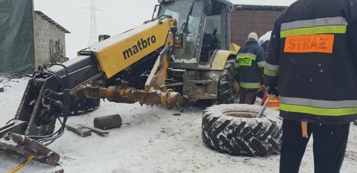 KSRG Nowa Karczma, Nowa Karczma, OSP, wypadki w rolnictwie,
