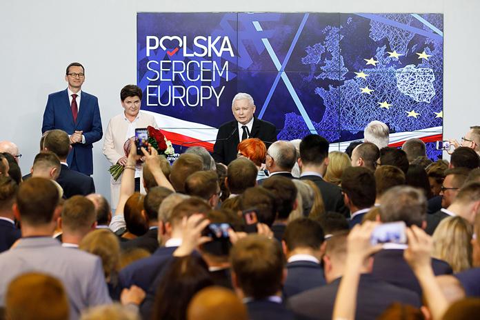 eurowybory 2019, Konfederacja, PiS, Koalicja Europejska, Wiosna, wybory do PE 2019