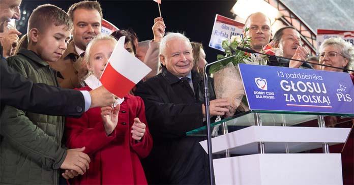 Jarosław Kaczyński, Konfederacja, Kukiz, Mateusz Morawiecki, PiS, Platforma Obywatelska, wybory, Prawo i Sprawiedliwość