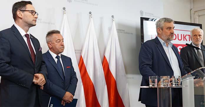 produkt polski, Polski Cukier, KOWR, Jan Krzysztof Ardanowski, minister rolnictwa, Daniel Obajtek, PKN Orlen,