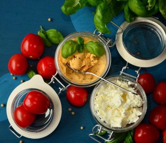 ser żywność pomidory