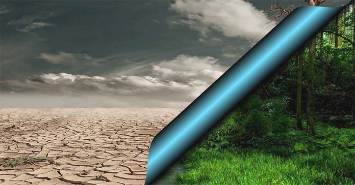 Konsekwencje ocieplenia klimatu dotkną także Polski i spowodują m.in. konieczność dostosowania gospodarki rolnej do nowych warunków klimatycznych., zmiany klimatu, klimat, susza, powodzie